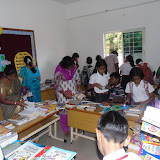Report sharig and Book exhibition for Grade-III and IV on 4th September 2015