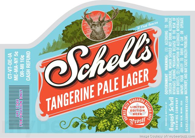 Schell's Tangerine Pale Lager