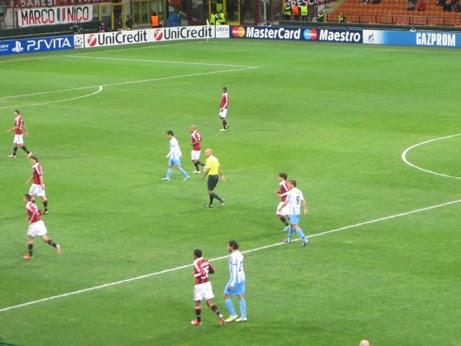 A San Siro, Milan e Malaga pareggiano per 1-1