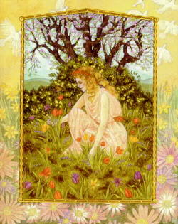 Song Of Proserpine While Gathering Flowers On The Plain Of Enna Image