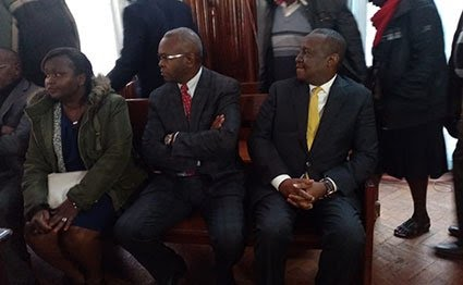 CS and PS of Finance Ministry out on free bail. PHOTO |NMG