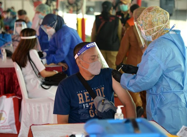 Lagi. Serbuan Vaksinasi Massal Kota Bekasi sebanyak 50.000 Peserta