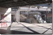 Stazione di Scampia oggi