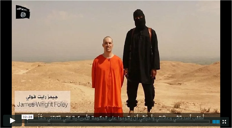 Jim Foley: another beheading by the 'religion of peace'