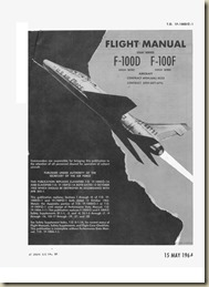 North American F-100D(I)F(I) Flight Manual_01