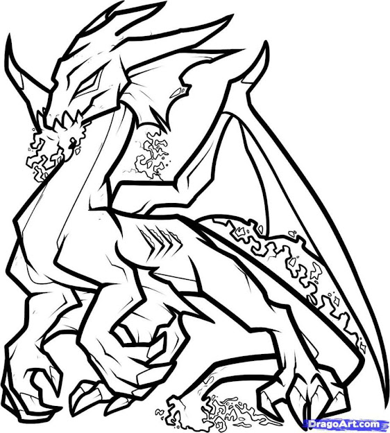 Coloring Pages Realistic Coloring Pages Of Dragons Realistic Dragon