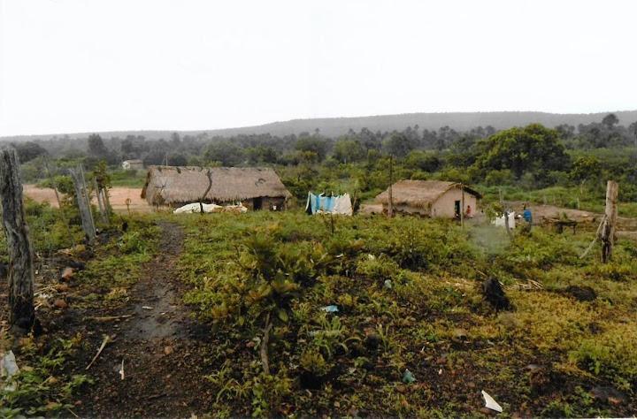 Zona rurale della missione affidata a don Ugo Montagner (Alto Parnaiba)