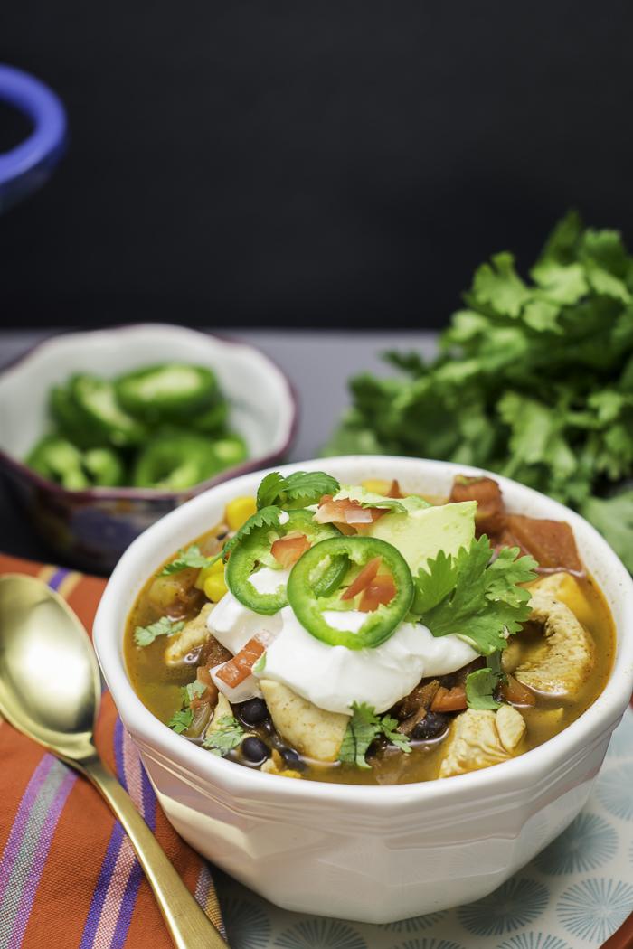 Chipotle Chicken Chile Stew 4