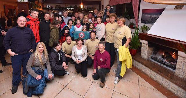 Druženje planinara sa Predsjednicom RH u Delnicama