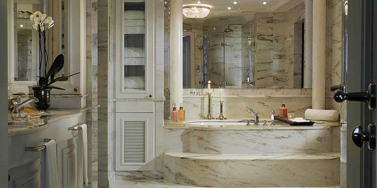 Gast Architects Designed This Gorgeous Classic White Kitchen Topped Off With Rich White Marble photo - 8