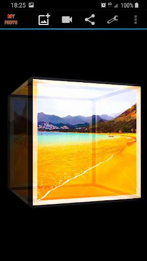 Mein Foto in 3D Live Wallpaper Screenshots 2