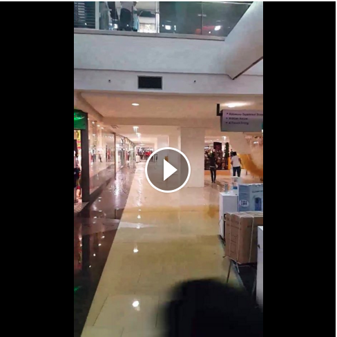 Image of Video of Robinsons Place Manila Ceiling Collapsed