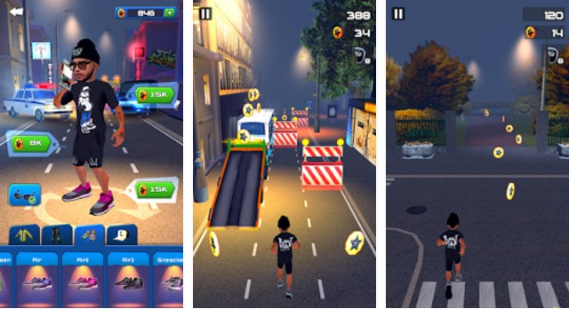 Black Star Runner Apk 1.2 Mod Hearts/Stars
