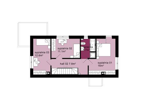Domo 02 - Rzut piętra