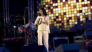 Souad Massi enchante le public lors de sa prestation à Amman