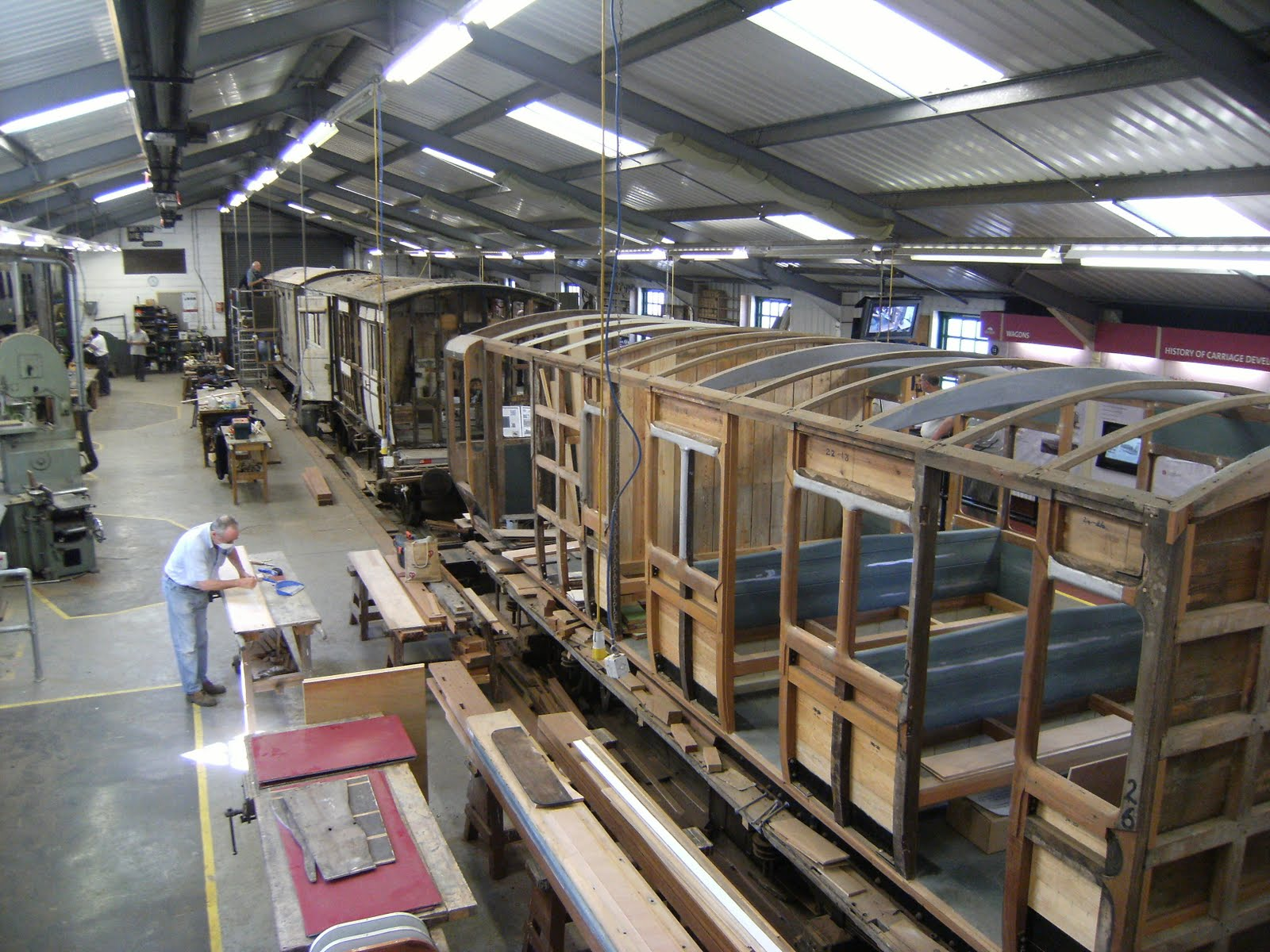 DSCF9734 Carriage workshop, Horsted Keynes station