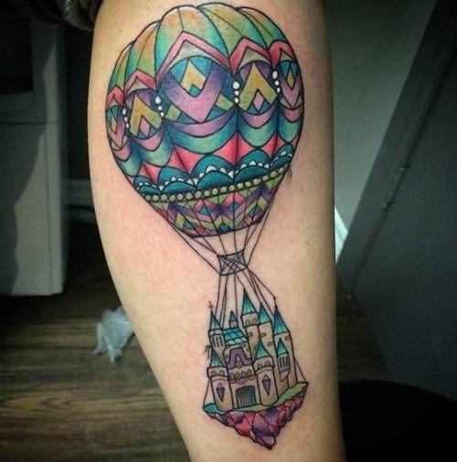 este_balo_de_ar_quente_mgico_de_tatuagem