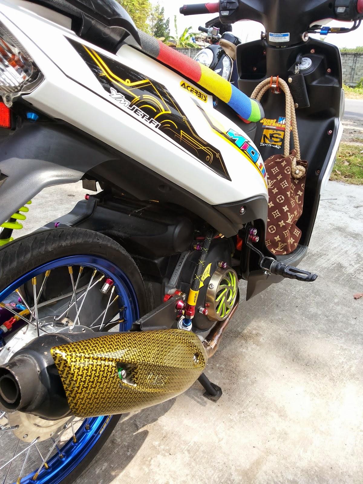 89 Modifikasi Motor Mio Thailand Look Terbaru Dan Terkeren Kujang