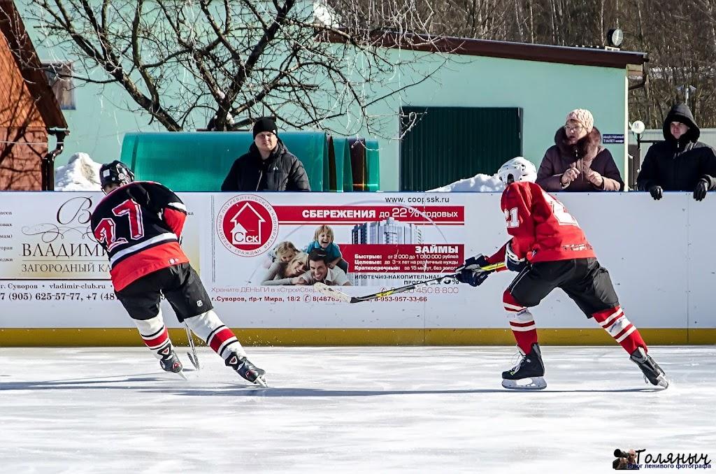 Козельск-Тула. Третий тайм. Далее не буду описывать ситуацию с хоккейным матчем - просто фотографии.