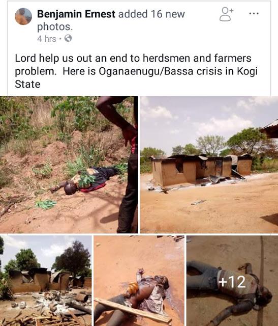 Farmers & Fulani Herdsmen Clash In Kogi, Many Killed (Viewers' Discretion Advised!!)  IMG_20180316_120031_305
