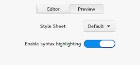 MarkMyWords un editor markdown minimalista hasta el extremo. Configuración 2.