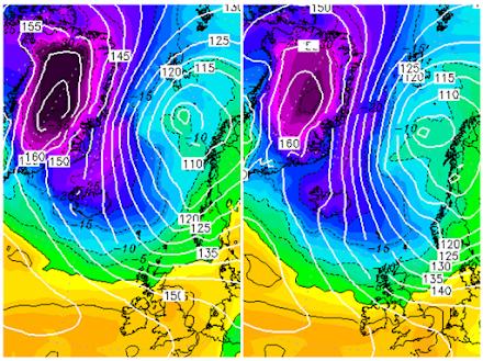 Η αρκτική μάζα αέρα κινείται προς την Ευρώπη : Εντυπωσιακά αρνητικές τιμές θερμοκρασιών στην Ισλανδία για την εποχή