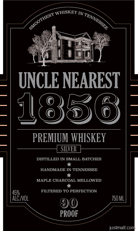 Uncle Nearest 1856 Silver Premium Whiskey