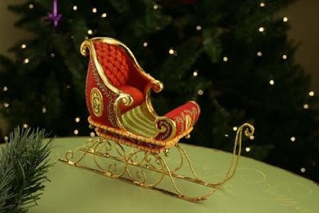 Patience Brewster Dash Away Sleigh Ornament
