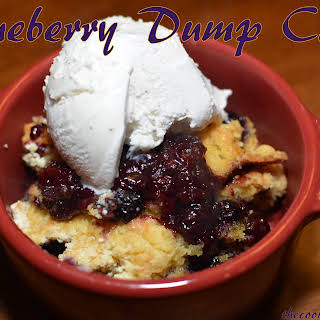 Berry Dump Cake The Kitchen