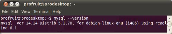 MySQL версия