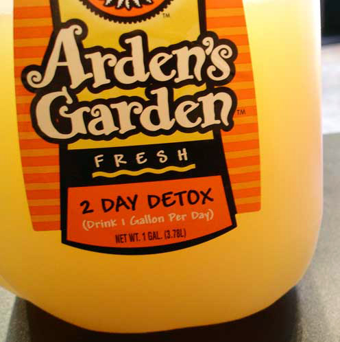 It's All New to Me: Day 179: Arden's Garden Two-Day Detox