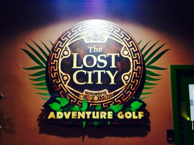 Lost City Adventure Golf, Nottingham Cornerhouse