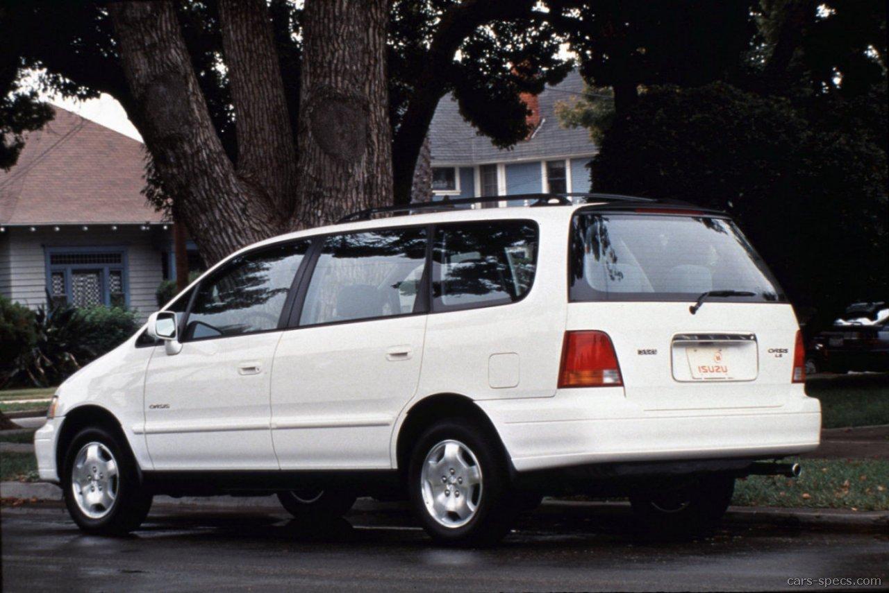 1998 isuzu oasis ls passenger minivan 2 3l 4 cyl 4 speed automatic