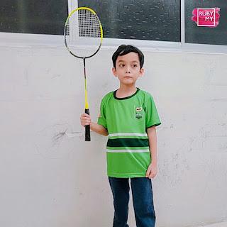 MILO Champions Clinic: E-Coaching Badminton Minggu Kedua