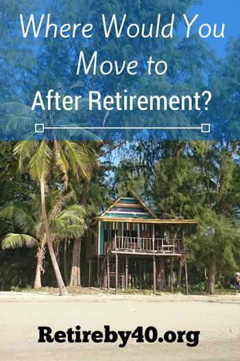 Where would you move to after retirement?