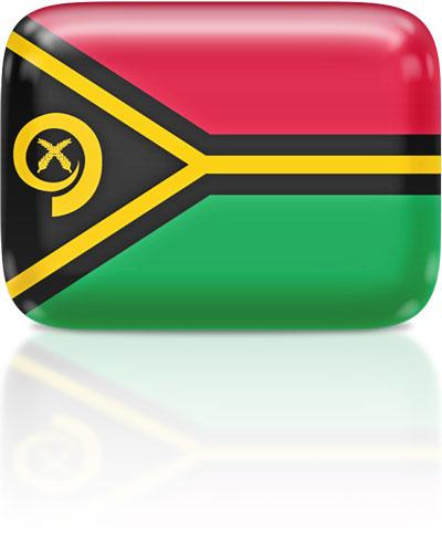 Vanuatuan flag clipart rectangular
