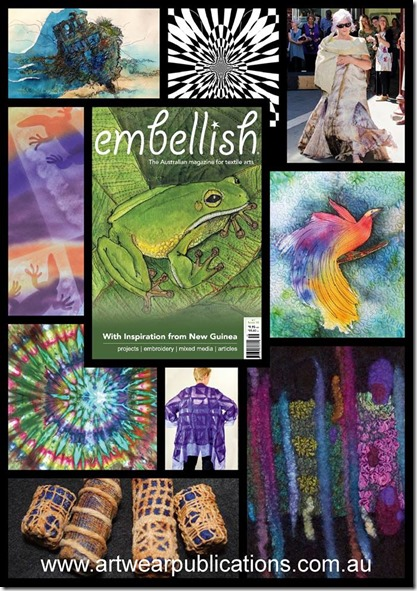 Embellish Magazine cover June 2017