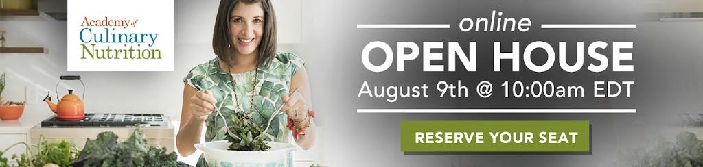 Culinary Nutrition Expert Program Open House