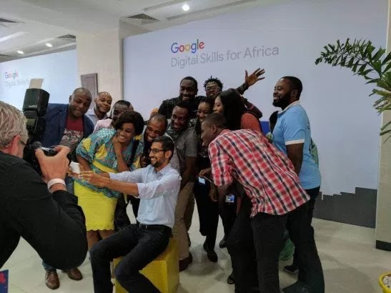 Google CEO Pichai Hits Nigeria: Ready to Train 100,000 Nigerian Software Developers, Launches Range of Products