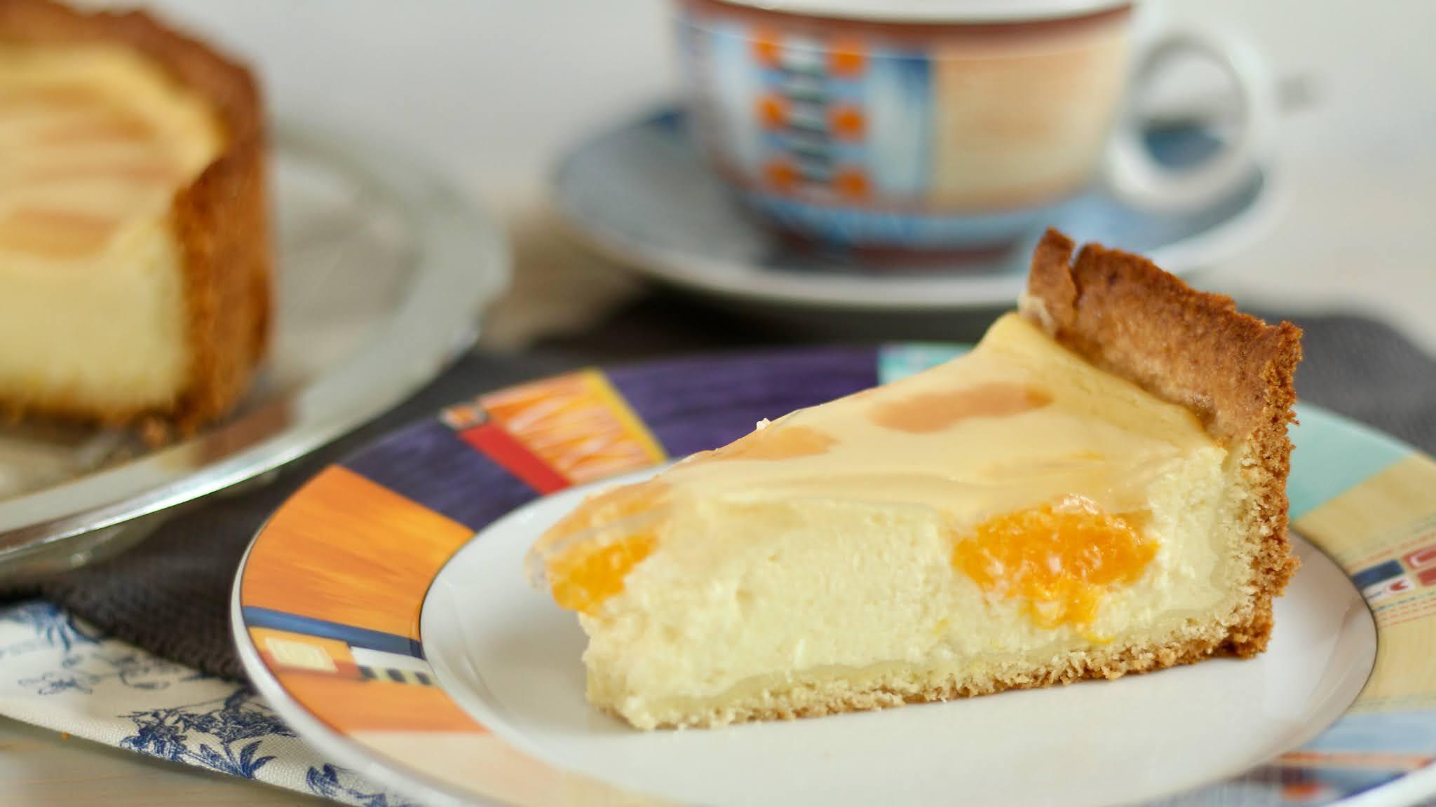 Der beste Schmandkuchen mit Mandarinen: Faule-Weiber-Kuchen super einfach und schnell gebacken! Rezept und Video von Sugarprincess