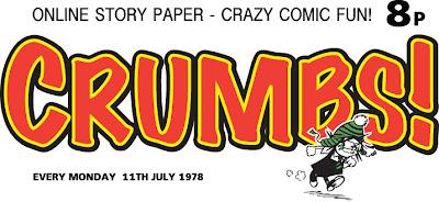 Crumbs! Steve Beckett's online story paper