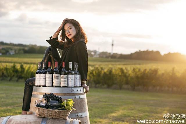 2015.10.19_Vang đỏ Monlot của Triệu Vy chính thức có mặt tại Trung Quốc