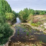 Каменистый речной берег
