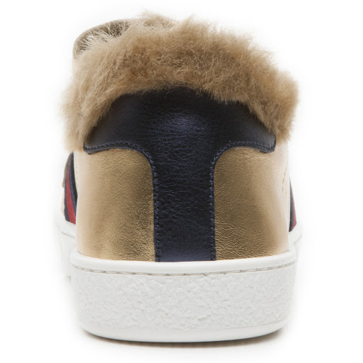 Thumbnail images of Gucci Faux Fur Junior Trainer