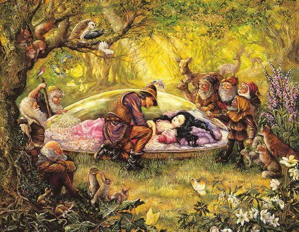 Sleeping Beauty And Dwarves, Spirit Companion 4