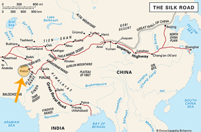Silk road is more popularly known as heroin route by United Nations