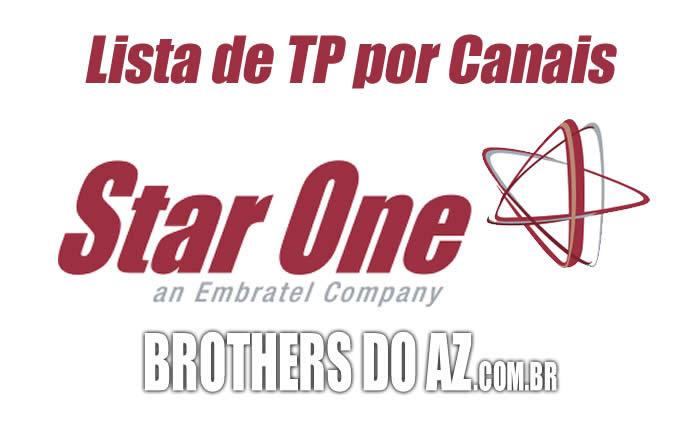 Canais por TP Star One C4