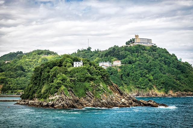 Isla en la bahía de La Concha