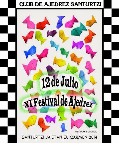 XI Festival de Ajedrez El Carmen 2014 Santurtzi