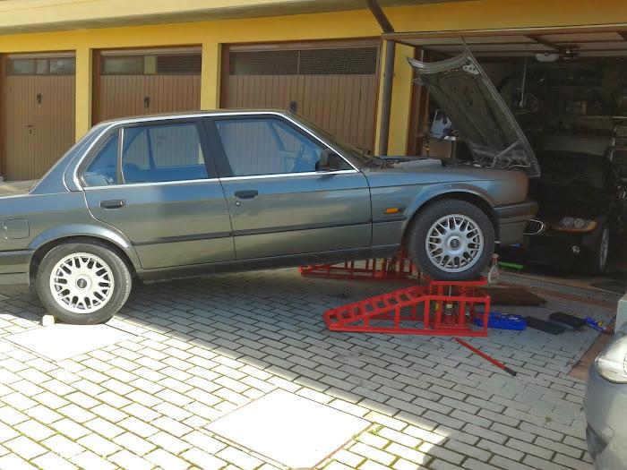 Rampe manutenzione for Costruendo un garage per 3 auto